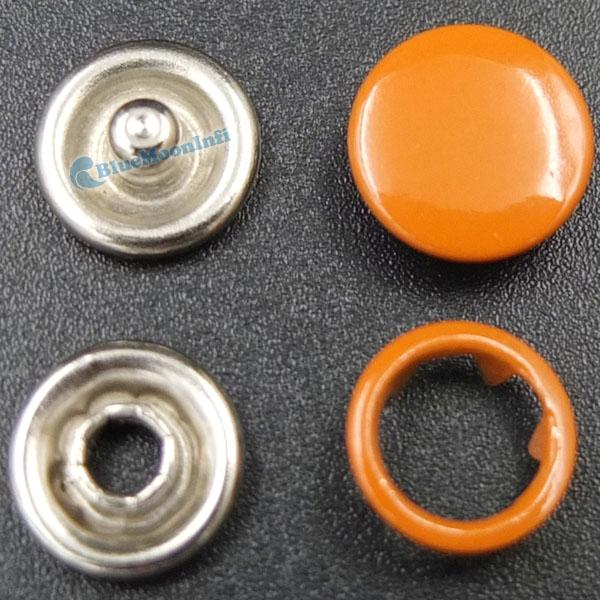 """3/8"""" 9mm Snap Fastener stud Open Ring No Sew sattaching Mixed Color 10 20 50 PCS"""