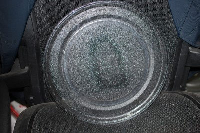 Kitchen aid glass microwave turntable plate tray 14 1 8 4313640 sharp ntnt a108 ebay - Kitchenaid microwave turntable replacement ...