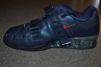 Nike Romaleos 2 Weightlifting Power Lifting Shoes Size 11.5 Obsidian