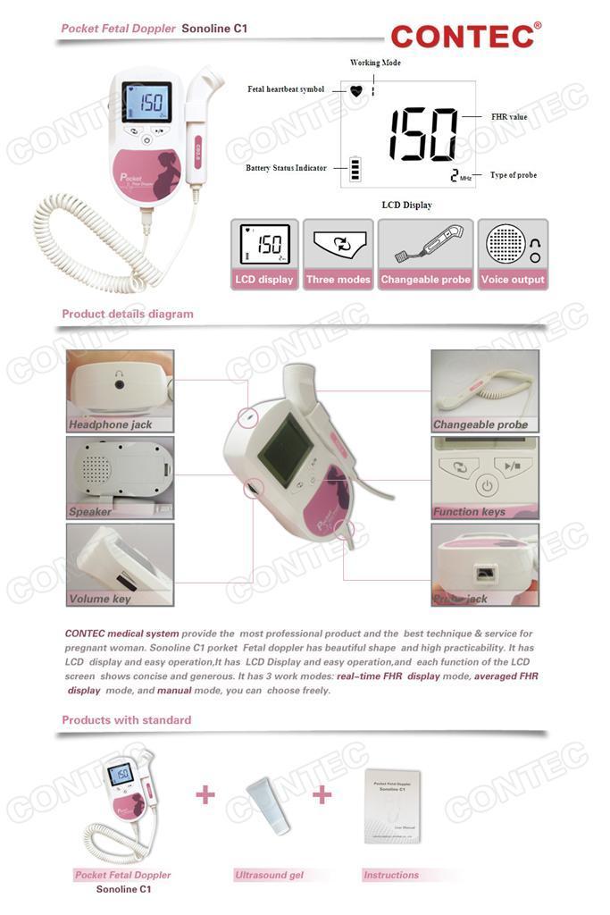 sonoline b fetal doppler manual