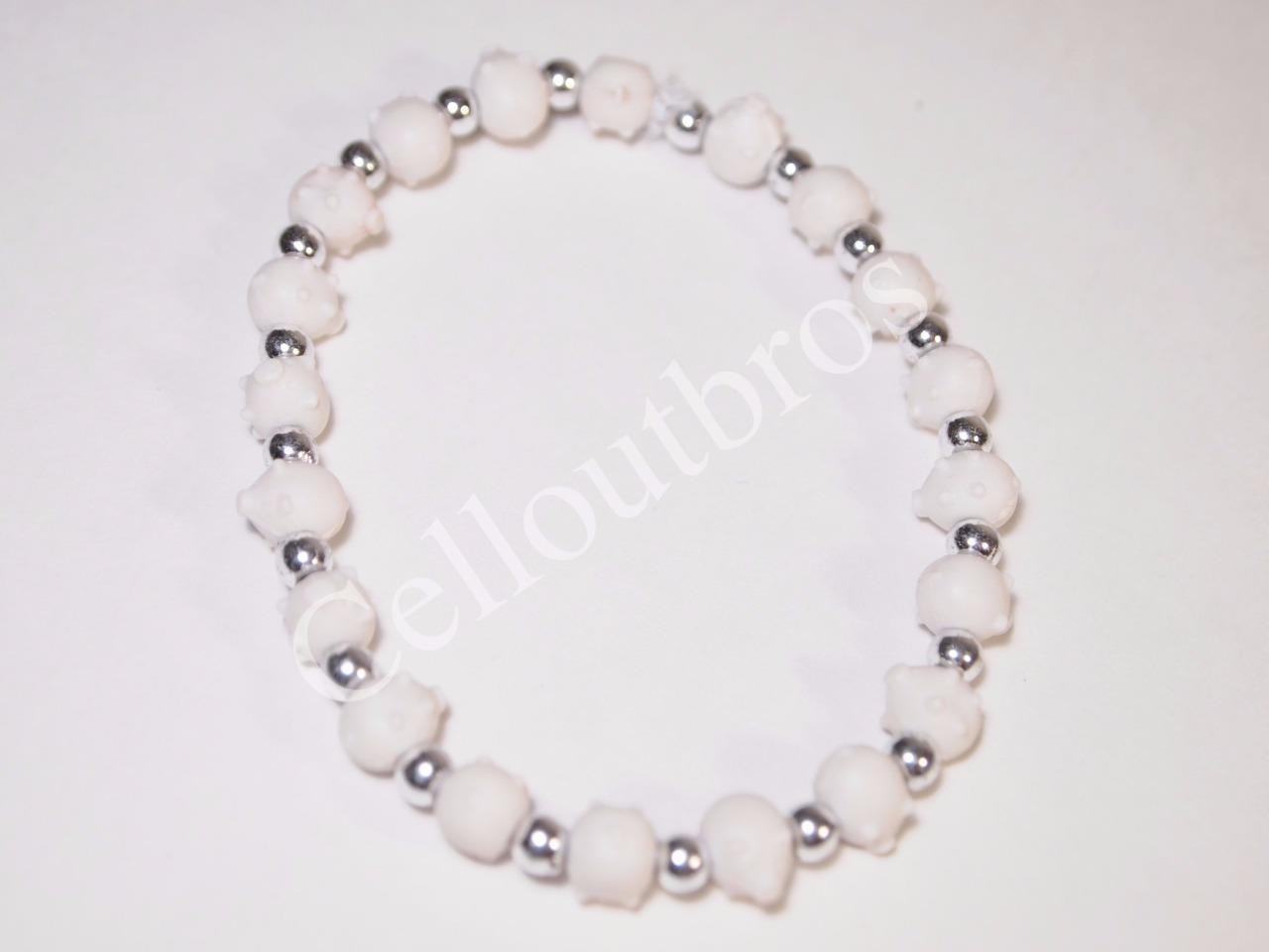 pig trrtlz fashion stretch bracelet wristband for kids u0026 adults
