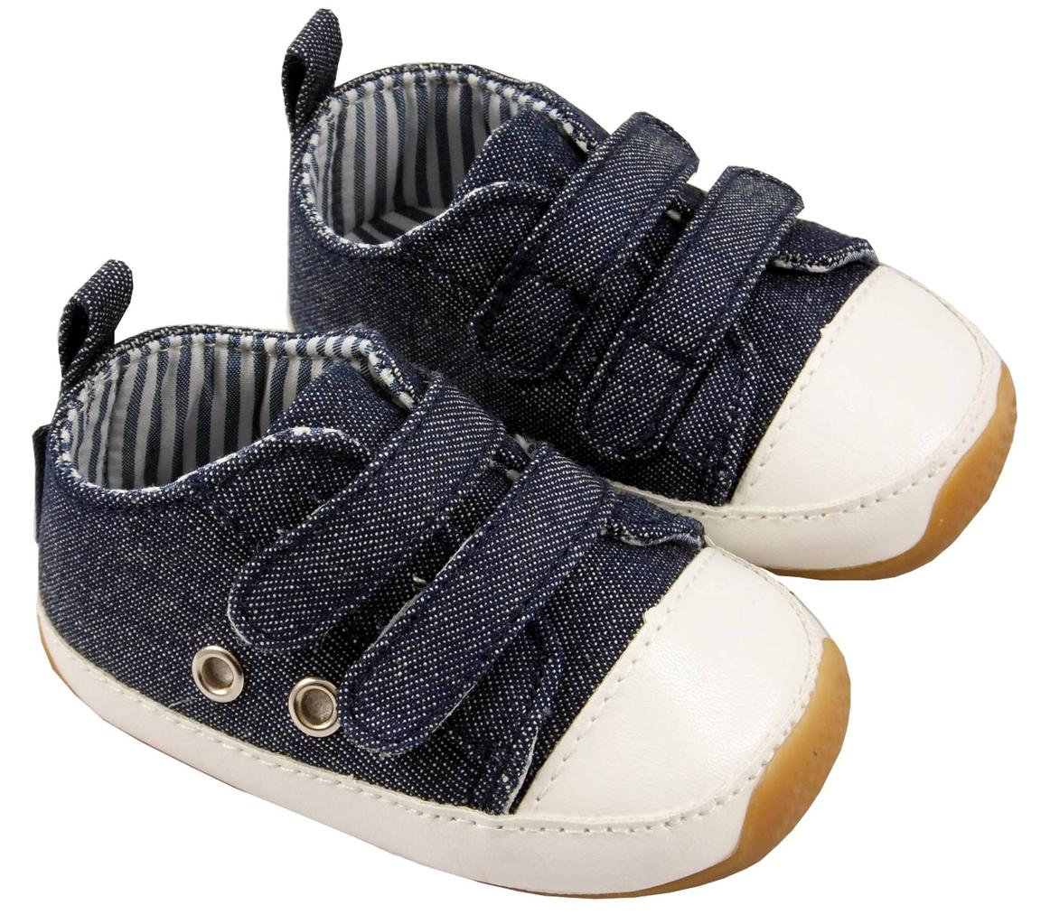 New Designer Canvas Baby Boy Shoes 0 6 6 12 12 18 18 24