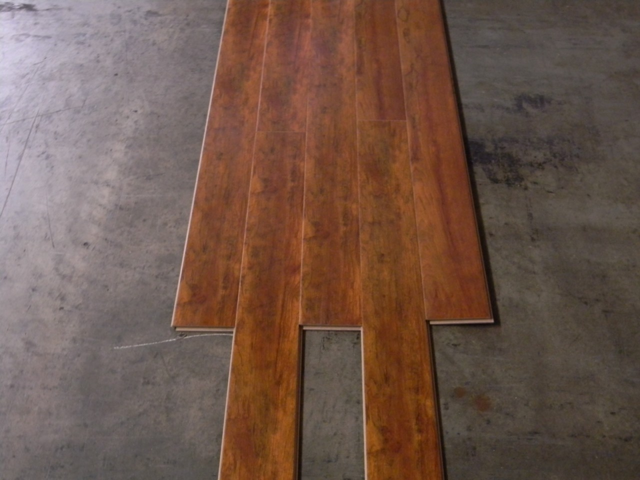12mm Laminate Flooring High Definition African Walnut Ebay