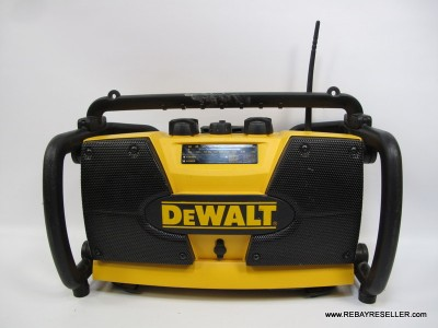 Details about DeWalt DW911 Heavy Duty Work Site Radio Battery Charger