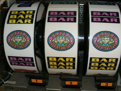 double diamond slot machine winners