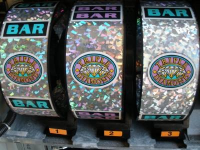 nine line double diamond slots machine