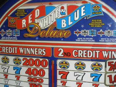 red white blue slot win