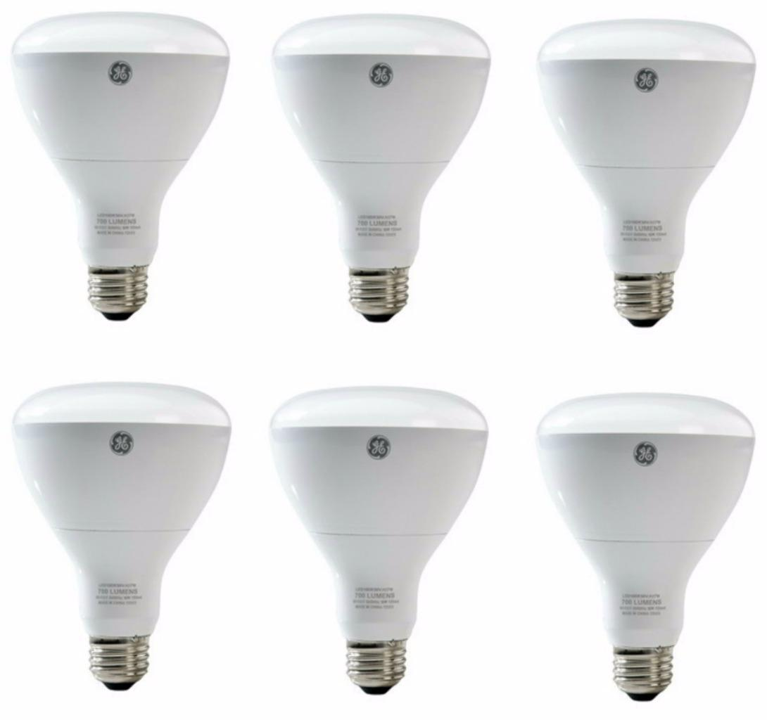 Energy Efficient Bulbs For Recessed Lighting : Lot of ge led floodlight light bulb recessed