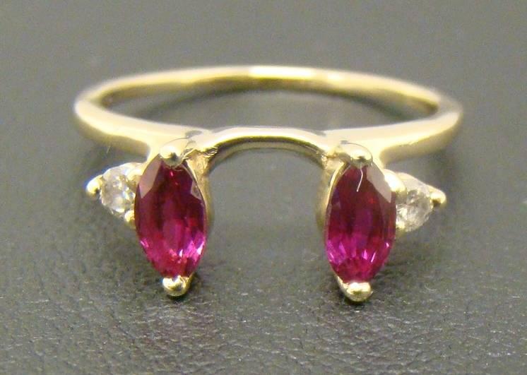 Marquise Cut Diamond Ring Enhancer