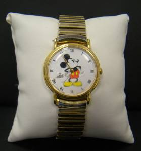 Lorus Quartz Disney Mickey Mouse Watch Stainless Steel