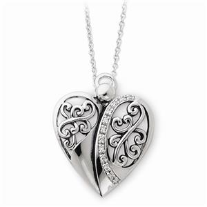 new sentimental expressions sterling silver cz angel of