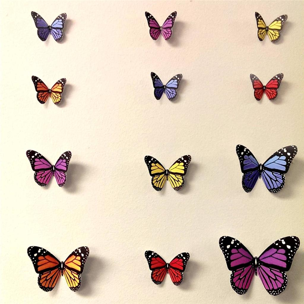 3d Butterfly Wall Stickers Wall Decors Wall Art Wall