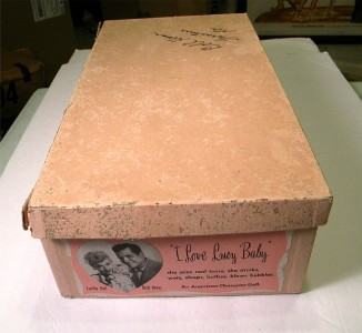 Love Lucy Lucille Ball Desi Arnaz Girl Doll Box 1950s