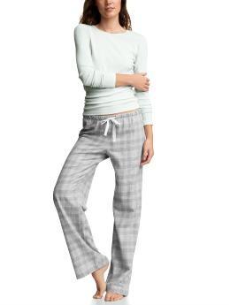 Gap Women Pajamas Long-Sleeved Sleepwear Sleep Set Multi ...