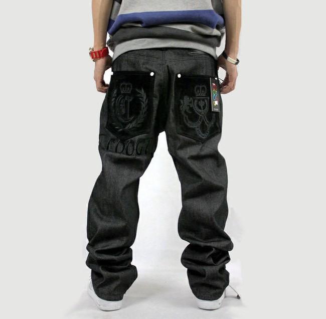 mens jeans ecko unltd baggy loose denim stonewashed hip