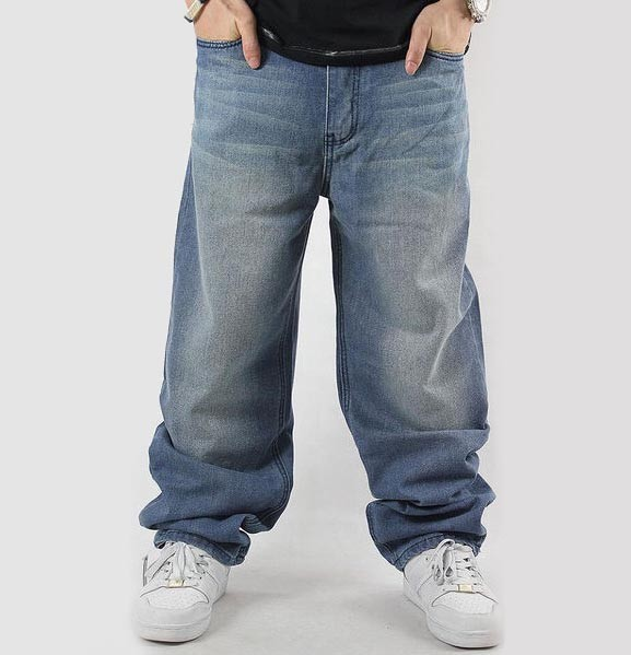 jeans baggy: