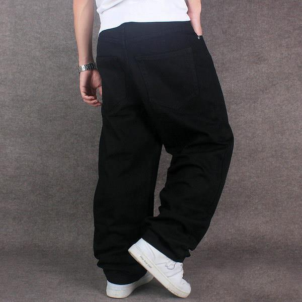 how to wear baggy jeans mens