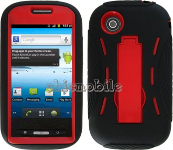 Impact Layer Case Cover Straight Talk Zte Merit Avail