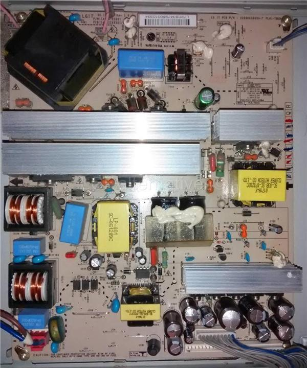 LG 32LC51-ZA, LCD TV Replacement Capacitors, Board not Included._Img