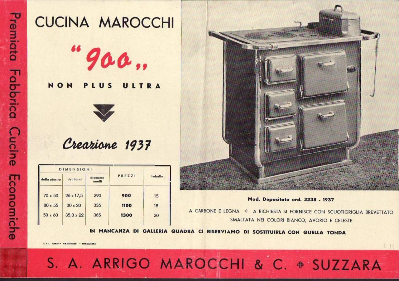 8743 suzzara 1937 cucina economica marocchi 900 ebay for Cucina economica zoppas