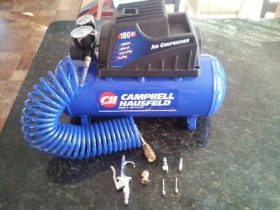 Campbell Hausfeld Oil Less 3 Gallon Air Compressor