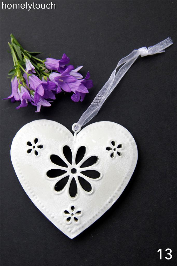 NEW-VINTAGE-STYLE-METAL-HANGING-HEARTS-WEDDING-FAVOURS-DECORATIONS