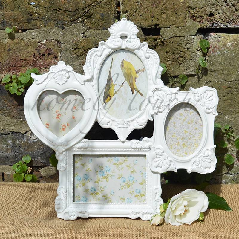 vintage style french rococo baroque multi frame picture collage photo frames. Black Bedroom Furniture Sets. Home Design Ideas