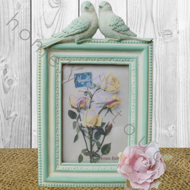 Vintage style picture photo frame shabby chic home for Home decorations gifts