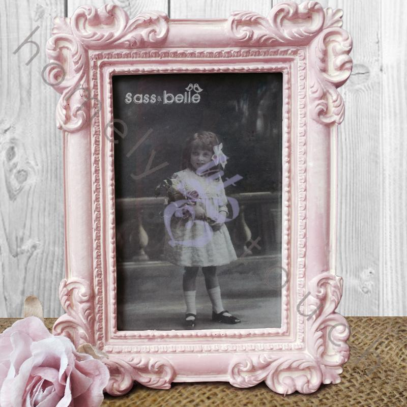 vintage style picture photo frame shabby chic home decoration wedding gifts ebay. Black Bedroom Furniture Sets. Home Design Ideas