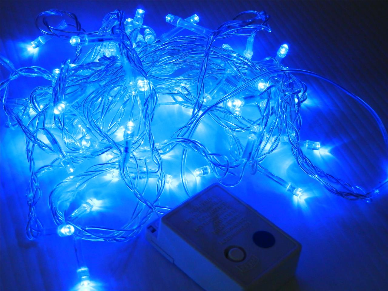String Lights Usa : 100 LED Christmas Halloween Fairy String Party Lights 8 Function USA SELLER!