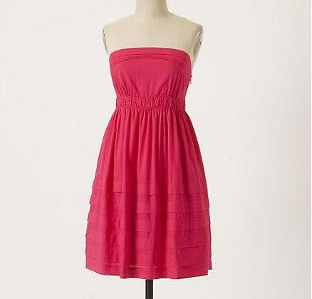 Details about new anthropologie maeve height of summer dress size 4 6