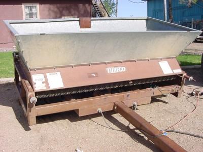 Turfco F 12 D Metermatic Iii Tow Behind Top Dresser