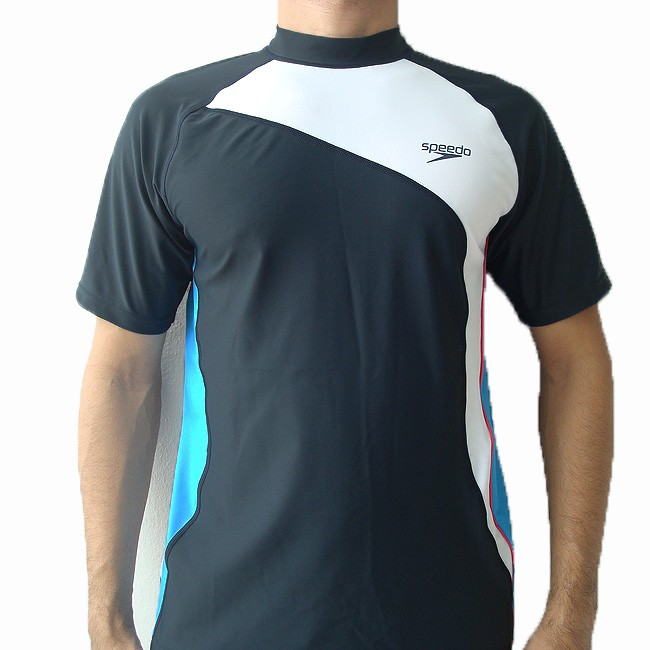 Speedo Mens Swim Shirt Sun Protection Swimwear L Xl Ebay