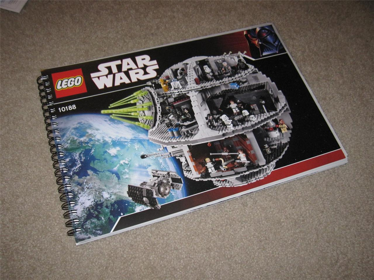 lego star wars instruction manuals