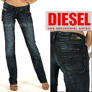 NWT Diesel Lowky 8SS Straight Leg Jeans Authentic 0 | eBay