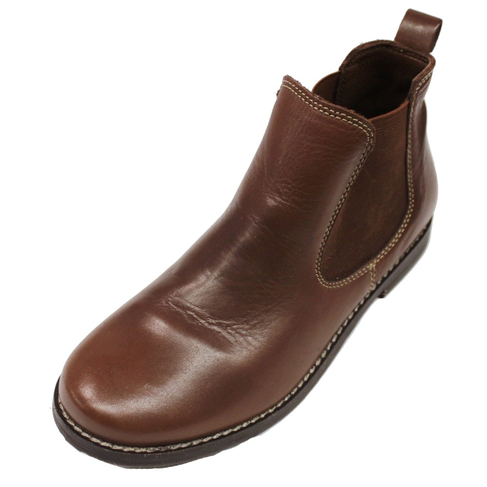authentic zara boys brown leather dress shoes boots