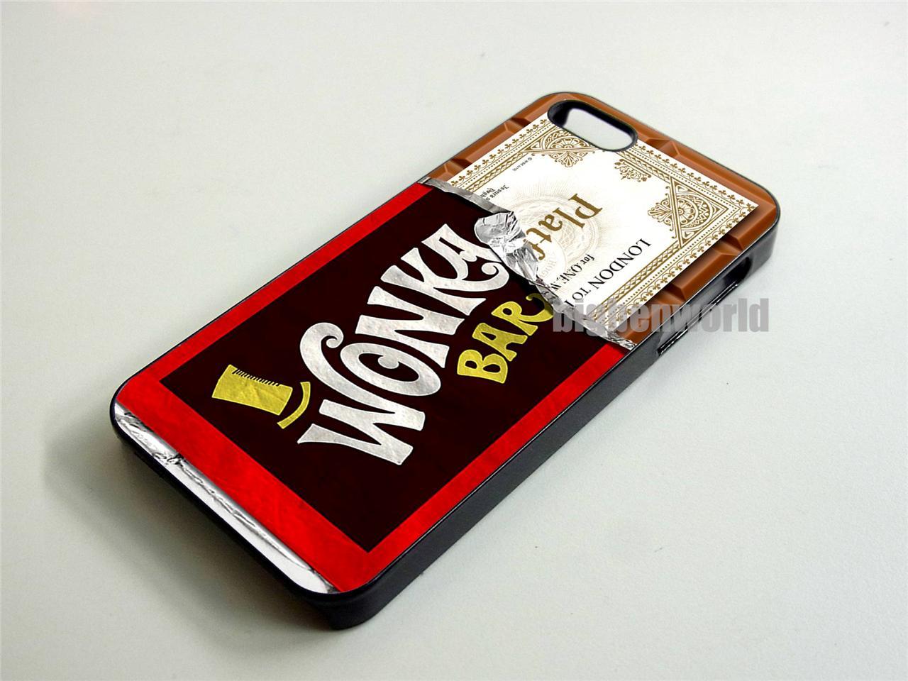 Wonka Chocolate Bar Harry Potter Platform 9 3/4 Ticket iPhone 4 4S ...