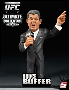BRUCE BUFFER UFC 4 ROUND 5 COLLECTORS LIMITED FIGURE