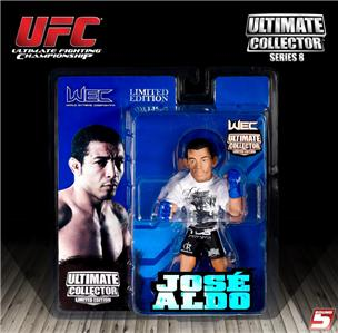 SET OF 4 ROUND 5 UFC SERIES 8 ULTIMATE COLLECTORS LIMITED EDITION