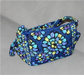 vera bradley 100 handbag in indigo pop vera