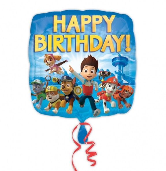 Nickelodeon's Paw Patrol Childs Birthday Party Balloons