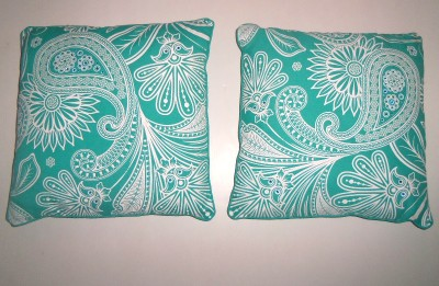 Decorative Pillows At Hobby Lobby : Pair Turquoise Floral Paisley Rhinestone Throw Pillows 17