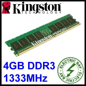Kingston-4GB-1333Mhz-DDR3-PC3-10600-ECC-RAM-Memory-Desktop-PC-KTH-PL313E-4G