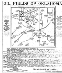 Map 1900s QuotOklahoma Oil Fieldsquot  EBay