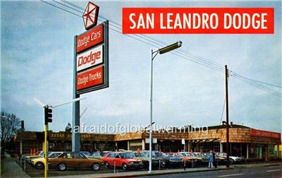 Dodge Dealer San Leandro Ca >> Photo. 1970s. San Leandro, CA. San Leandro Dodge Auto Dealership | eBay