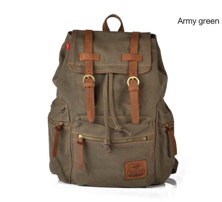 From collegiate and preppy, to urban and cool, our monogram travel leather backpacks are easy to carry and built to last, through all of life's adventures. JavaScript seems to be disabled in your browser.