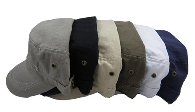 new mens womens fashion leisure flat top cap hat 4 colours