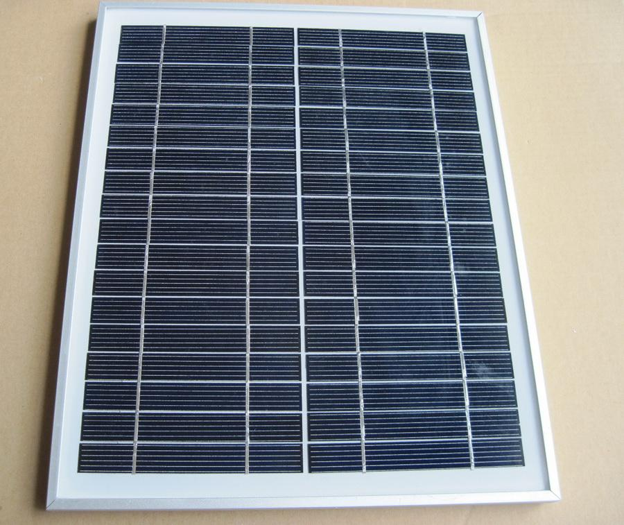Details about 10W Solar Panel Power Charger 12 Volt Battery MONO 18V