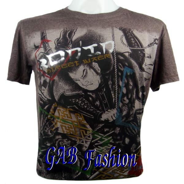 Japanese Star Samurai Tattoo Gcd Mma Ufc Mens T Shirt M For Sale.