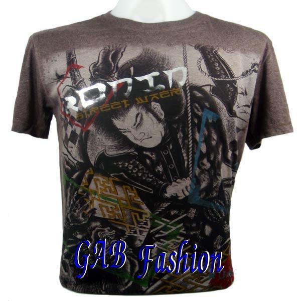 Japanese Star Samurai Tattoo Gcd Mma Ufc Mens T Shirt M For Sale.